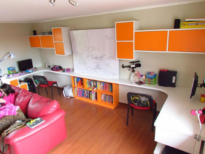 Sala De Tv Y Estudio ~ Diseño de mobiliario para sala de estudios de niños